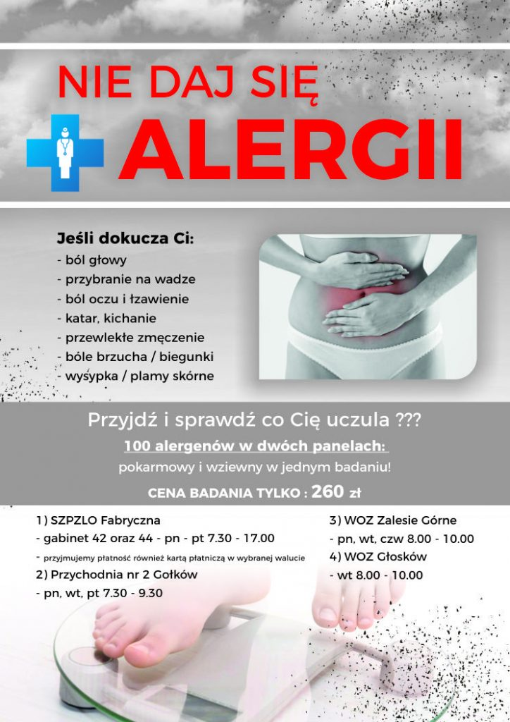 Nie daj się alergii