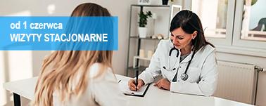 Wznowienie stacjonarnych wizyt lekarskich